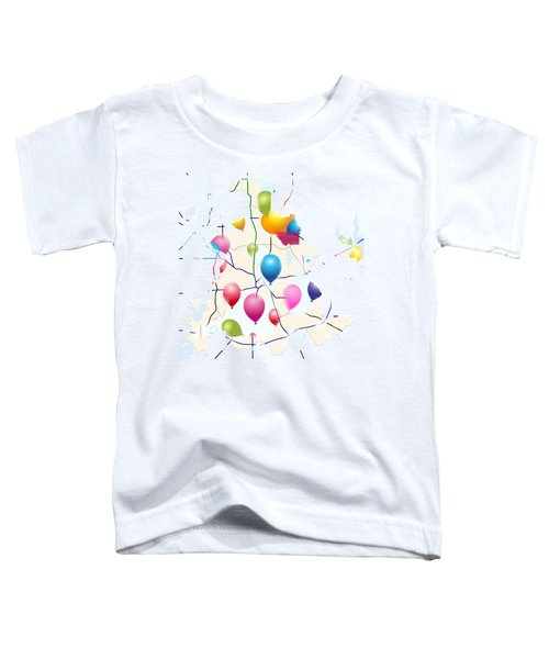 Celebrate ? Toddler T-Shirt by Jacquie King