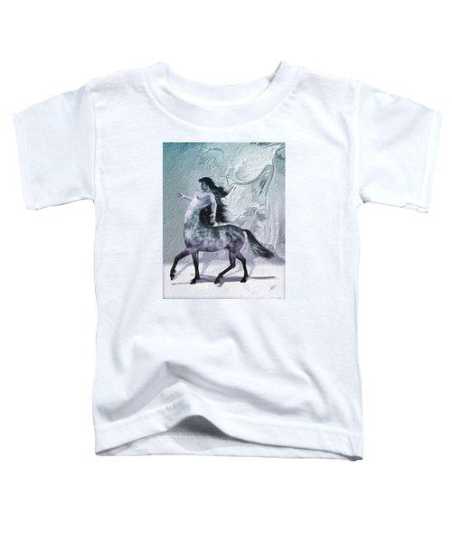 Centaur Cool Tones Toddler T-Shirt by Quim Abella