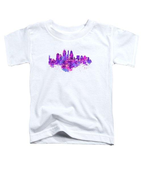 Cincinnati Skyline Toddler T-Shirt by Marian Voicu