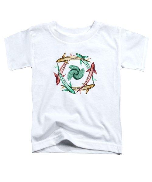 Circle Toddler T-Shirt by Deborah Smith