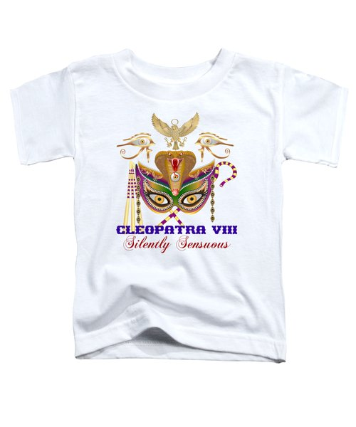 Cleopatra Viii For Light Color Products Toddler T-Shirt by Bill Campitelle