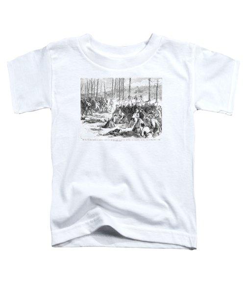 Coal Miner Strike, 1871 Toddler T-Shirt by Granger