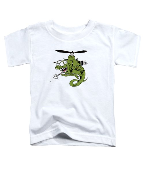 Cobra Toddler T-Shirt by Julio Lopez
