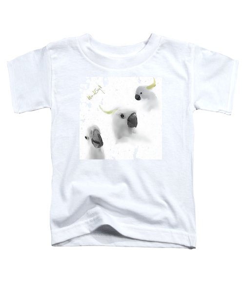 Cockatoos Toddler T-Shirt by iMia dEsigN