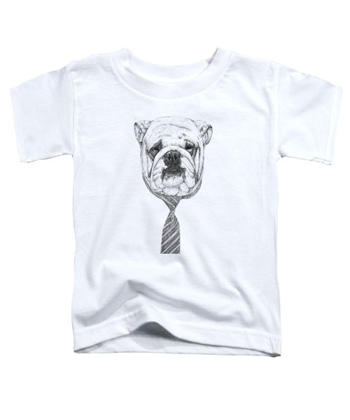 Cooldog Toddler T-Shirt by Balazs Solti