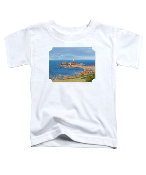 Corbiere Lighthouse Jersey Toddler T-Shirt by Gill Billington