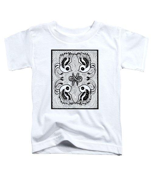 Da Boids Toddler T-Shirt by Vicki Von Doom