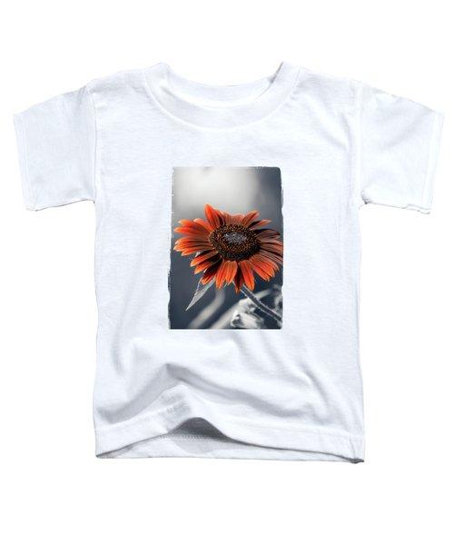 Dark Sunflower Toddler T-Shirt by Konstantin Sevostyanov