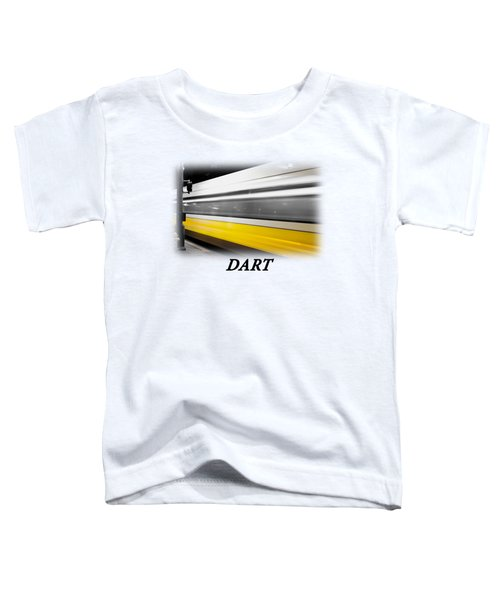 Dart Train T-shirt Toddler T-Shirt by Rospotte Photography