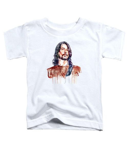 Dave Grohl  Toddler T-Shirt by Marian Voicu