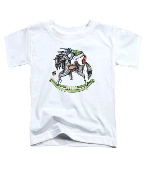Day At The Races Toddler T-Shirt by Kelly Jade King