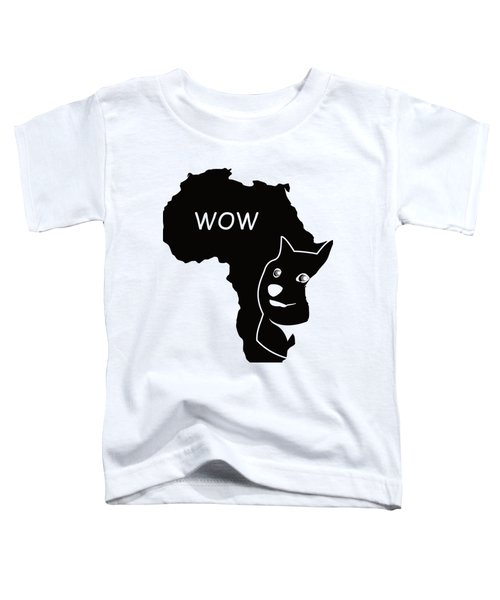 Dogecoin In Africa Toddler T-Shirt by Michael Jordan