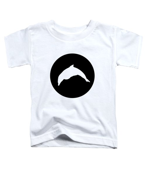 Dolphin Toddler T-Shirt by Mordax Furittus