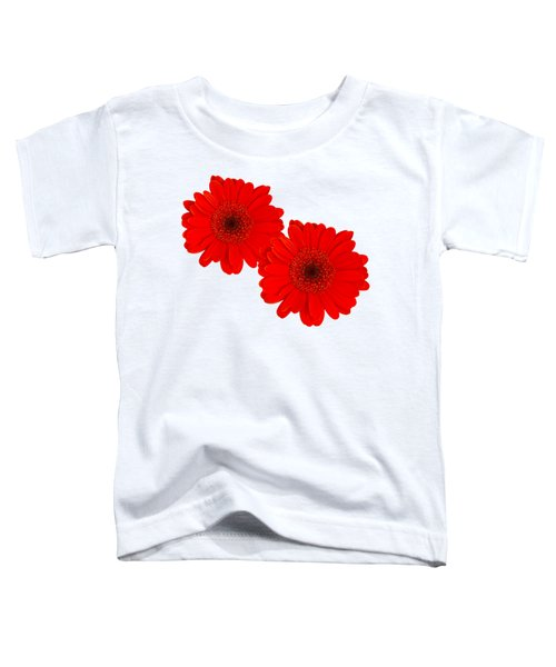 Double Gerbera Toddler T-Shirt by Scott Carruthers
