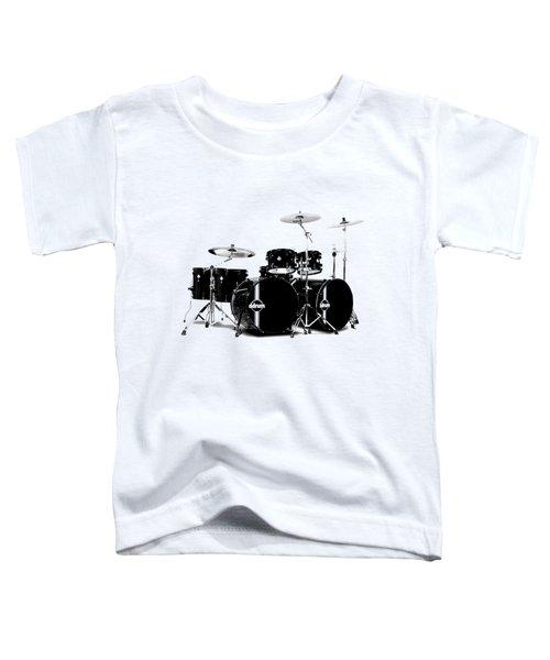Drum Toddler T-Shirt by David Balber