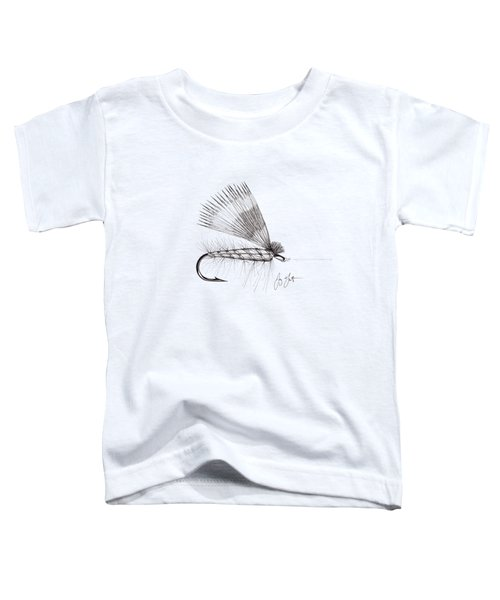Dry Fly Toddler T-Shirt by Jay Talbot