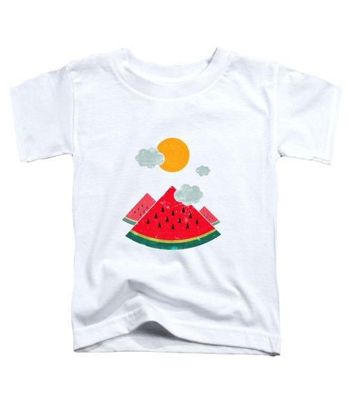 Eatventure Time Toddler T-Shirt by Mustafa Akgul
