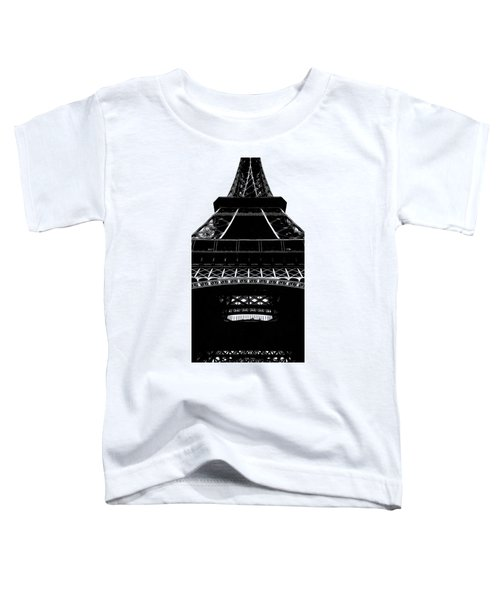 Eiffel Tower Paris Graphic Phone Case Toddler T-Shirt by Edward Fielding