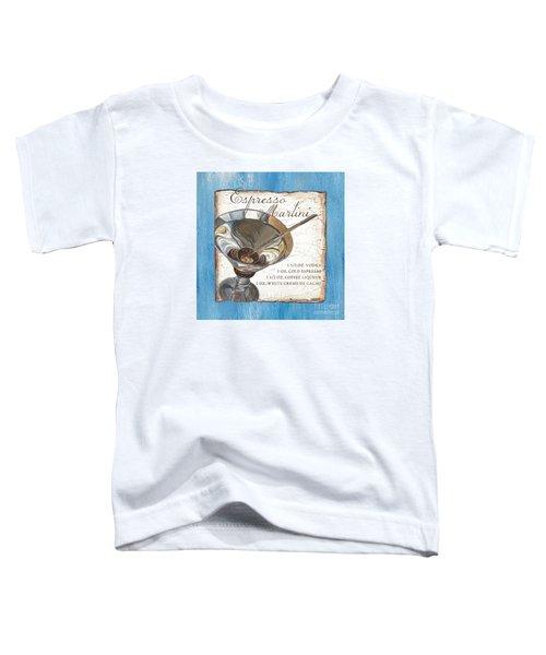 Espresso Martini Toddler T-Shirt by Debbie DeWitt