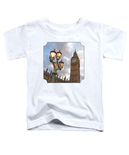 Evening Light At Big Ben Toddler T-Shirt by Gill Billington