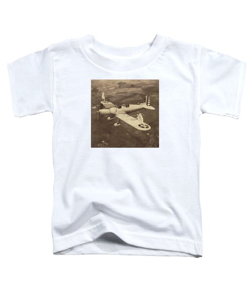 Extreme Tennis Toddler T-Shirt by Marian Voicu