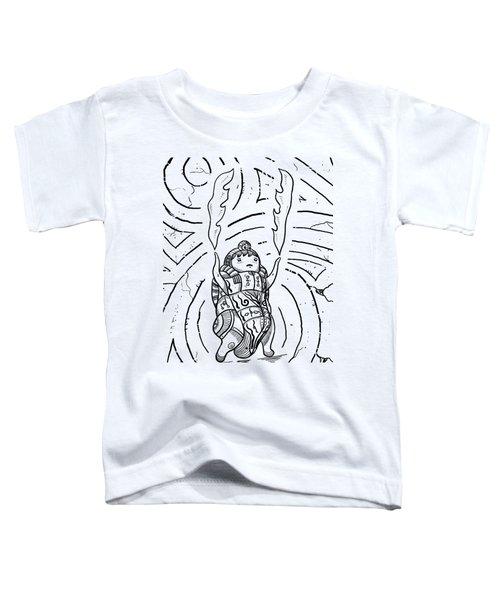 Firestarter Toddler T-Shirt by Erki Schotter