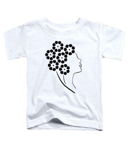 Flower Girl Toddler T-Shirt by Frank Tschakert