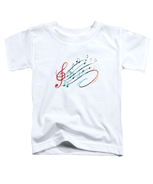 Fluid Depths Alcohol Ink Abstract Toddler T-Shirt by Nikki Marie Smith