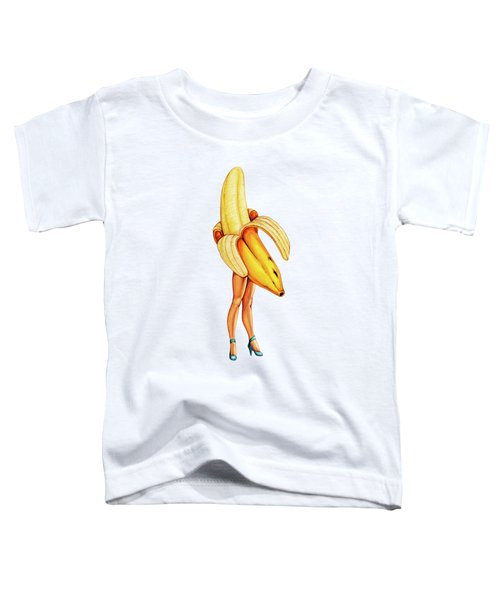 Fruit Stand - Banana Toddler T-Shirt by Kelly Gilleran