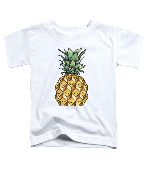 Fruitful Toddler T-Shirt by Kelly Jade King