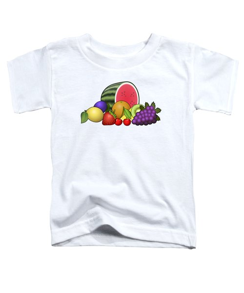 Fruits Heap Toddler T-Shirt by Miroslav Nemecek