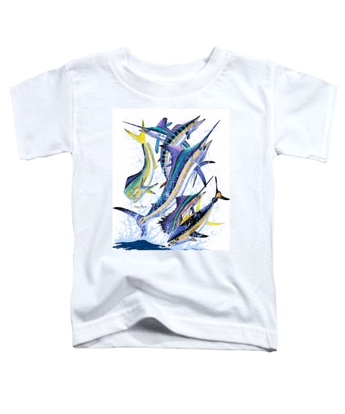 Gamefish Digital Toddler T-Shirt by Carey Chen