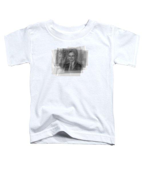 George H. W. Bush Toddler T-Shirt by Steve Socha