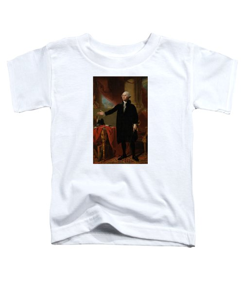 George Washington Lansdowne Portrait Toddler T-Shirt by War Is Hell Store
