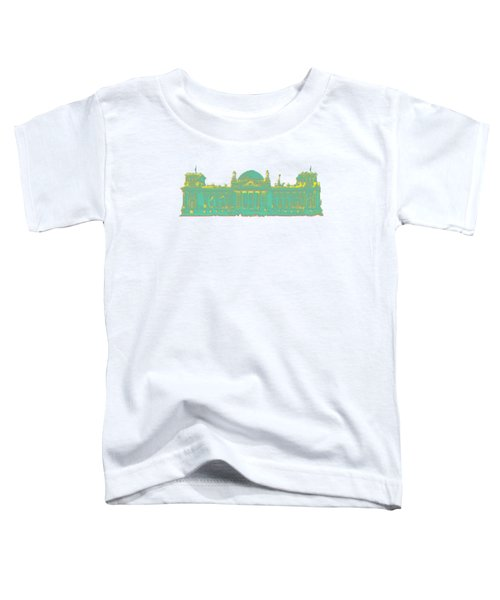 Germany Reichstag Dots Toddler T-Shirt by Frank Hoven