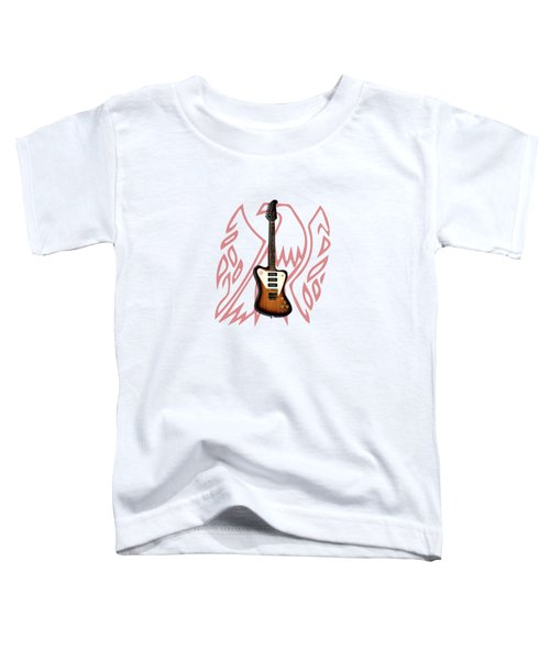 Gibson Firebird 1965 Toddler T-Shirt by Mark Rogan