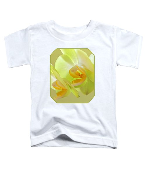 Glowing Orchid - Lemon And Lime Toddler T-Shirt by Gill Billington