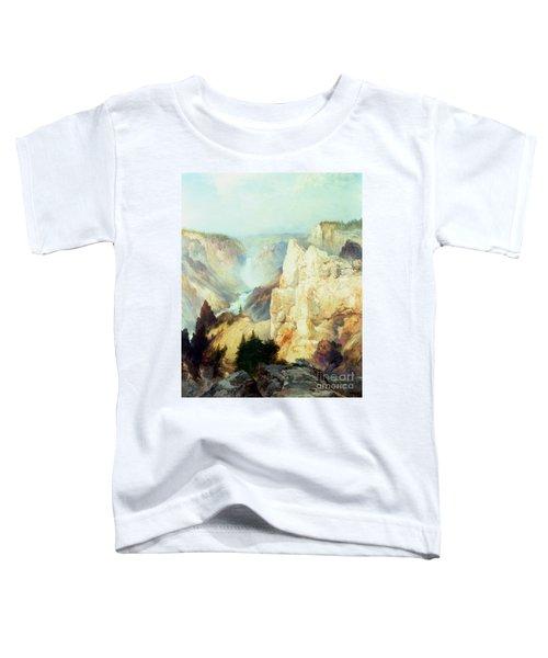 Grand Canyon Of The Yellowstone Park Toddler T-Shirt by Thomas Moran