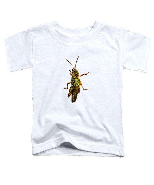 Grasshopper II Toddler T-Shirt by Gary Adkins