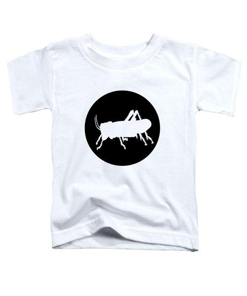 Grasshopper Toddler T-Shirt by Mordax Furittus
