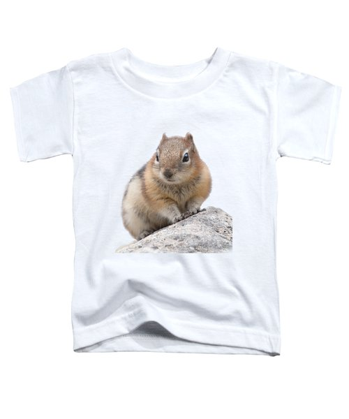 Ground Squirrel T-shirt Toddler T-Shirt by Tony Mills
