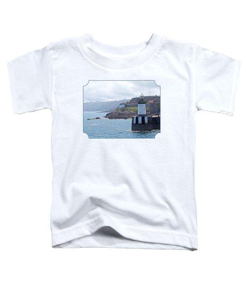 Guernsey Lighthouse Toddler T-Shirt by Gill Billington