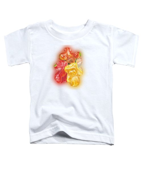 Gummy Bear Toddler T-Shirt by Shana Rowe Jackson