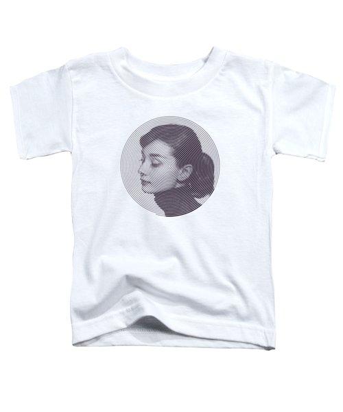 Hepburn Toddler T-Shirt by Zachary Witt