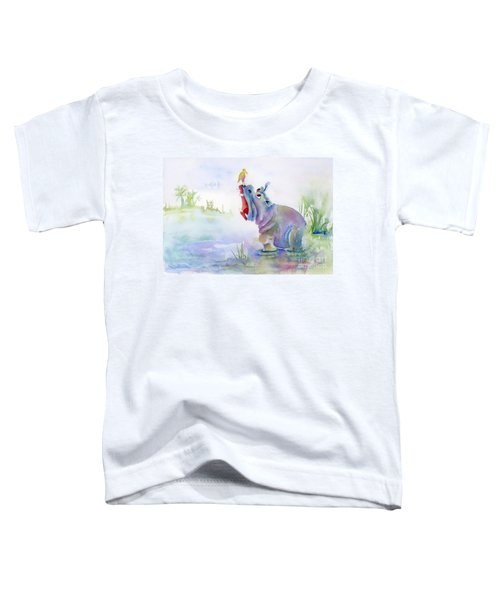 Hey Whats The Big Idea Toddler T-Shirt by Amy Kirkpatrick