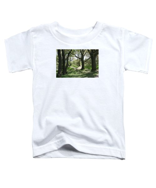 Toddler T-Shirt featuring the photograph Hill 60 Cratered Landscape by Travel Pics