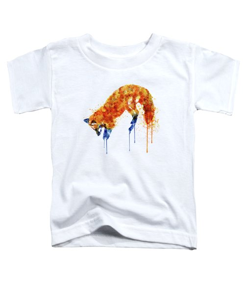 Hunting Fox  Toddler T-Shirt by Marian Voicu
