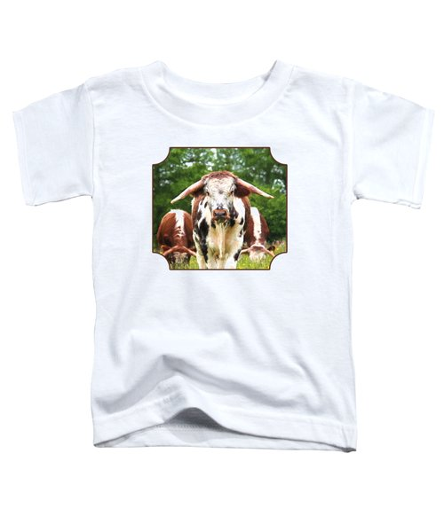 I'm In Charge Here Toddler T-Shirt by Gill Billington