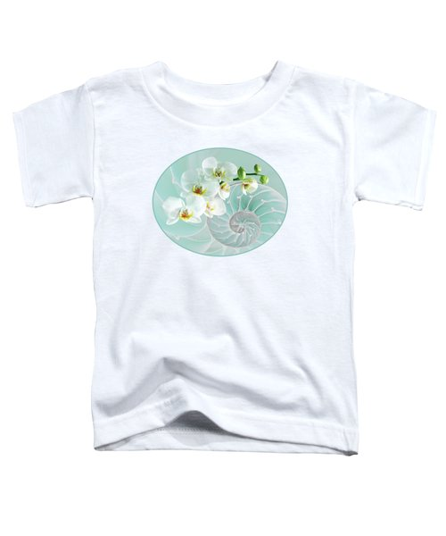 Intimate Fusion In Turquoise Toddler T-Shirt by Gill Billington