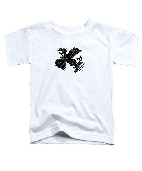 Phoenix Tee Shirt 3 Toddler T-Shirt by Nathan Beardsley